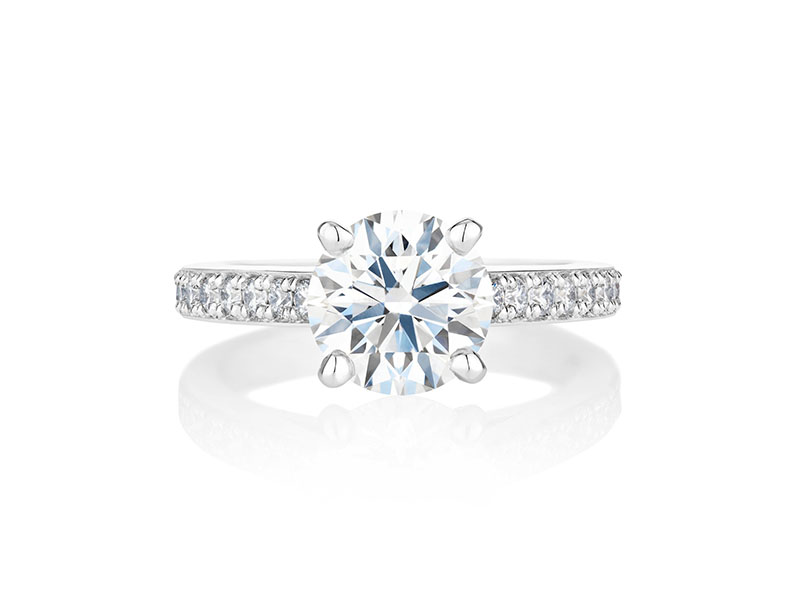 De Beers - Old Bond Street Solitaire Ring