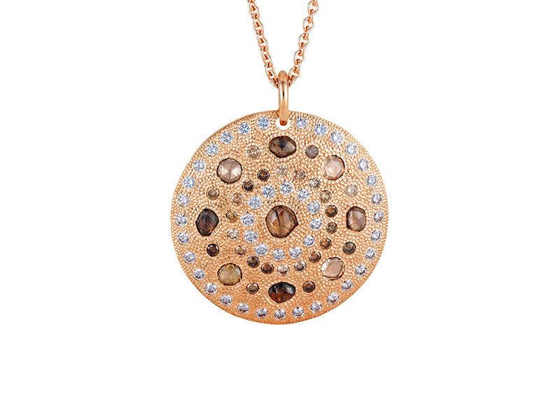 De Beers - Talisman Rose Gold Large Medaillon