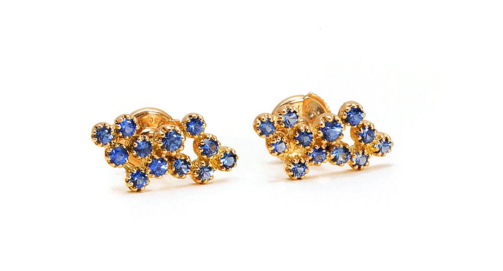 Magic Topkapi Sapphire Earrings