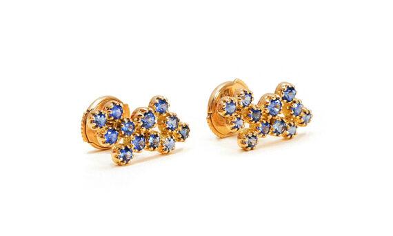 Magic Topkapi sapphire earrings-3
