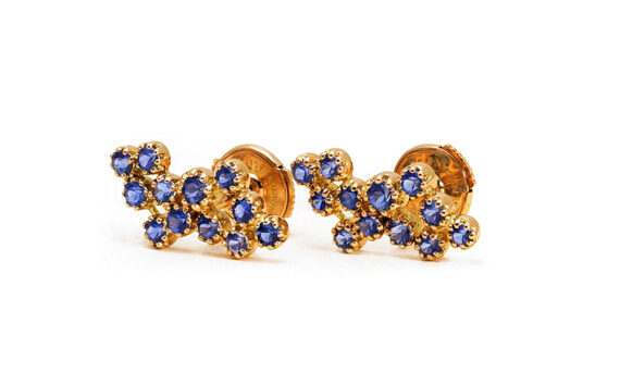 Magic Topkapi sapphire earrings-2