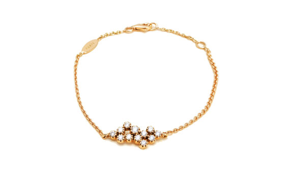 Maison Artaner Magic Topkapi 12 Diamonds Bracelet Yellow-2