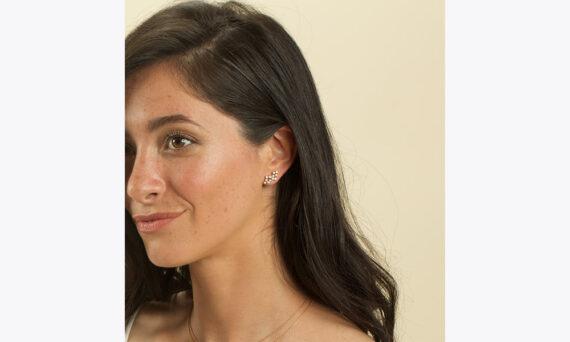 Magic Topkapi 24 earrings white gold-au porte 2