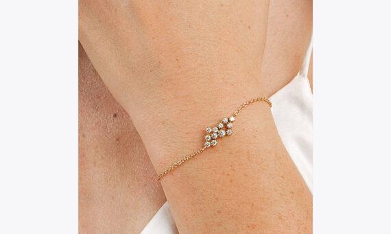 Maison Artaner Magic Topkapi 12 Diamonds Bracelet Yellow lifestyle