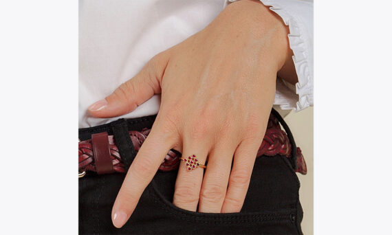 Maison Artaner Magic Topkapi Ruby Ring lifestyle