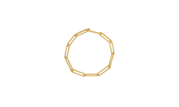 Rivka Nahmias Rectangle Ring yellow gold
