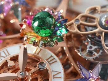 The object of desire: the Astronomia Fleurs de Jardin Rainbow watch from Jacob & Co.