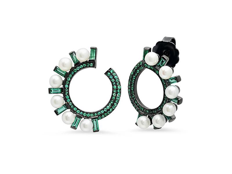 Colette Jewelry Mini créoles Swirl
