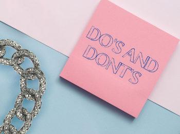 Do & Don't pour faire durer ses bijoux le plus longtemps possible