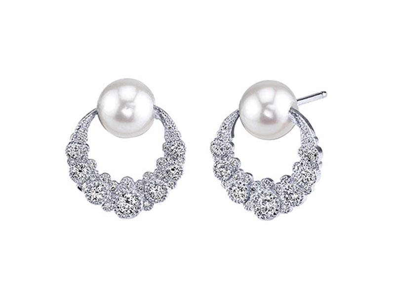 Colette Jewelry - Boucles d'oreilles Orbiting Moon