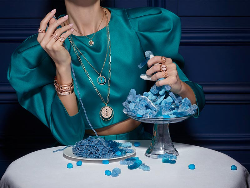 Messika - collection Lucky Move Turquoise