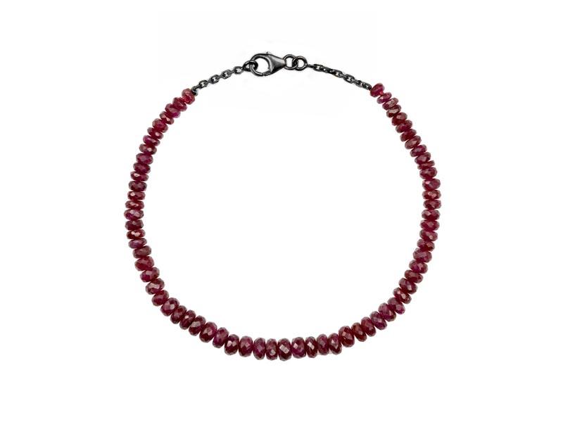 Rivka Nahmias - Bracelet Karma ruby