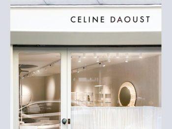 Pleins feux sur la première boutique parisienne de Céline Daoust