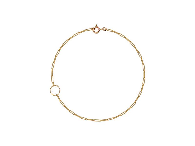 Rivka Nahmias - Bracelet de cheville Rectangle