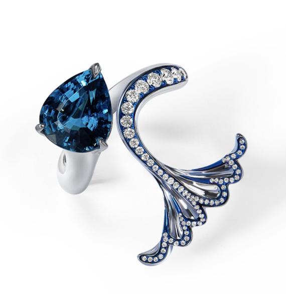 Ariel Tourmaline ring
