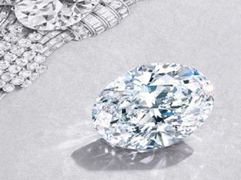 Tiffany fait sensation en mettant la main sur un diamant exceptionnel de 80 carats