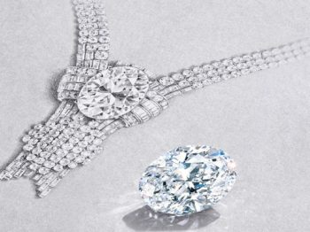Tiffany creates a sensation by getting their hands on an exceptional 80-carat diamond