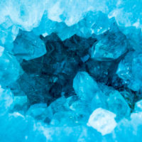 Dive into the heart of the aquamarine blue