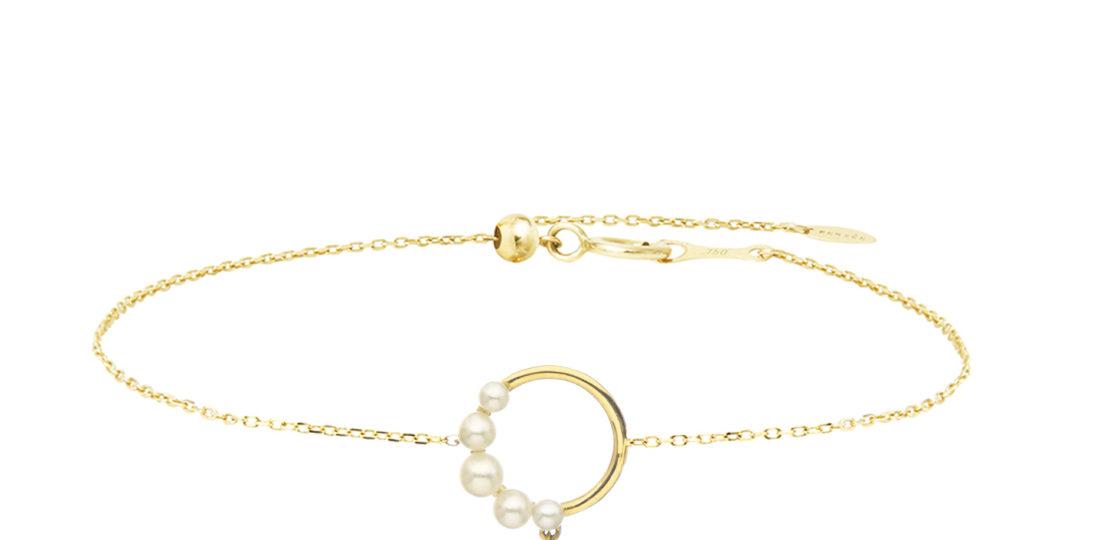 Aphrodite demi perlé bracelet