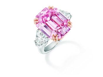 La bague Winston Pink Legacy, un hommage au «Roi des Diamants»